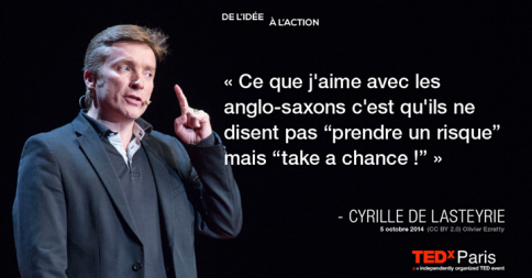 Cyrille De Lasteyrie - Take A Chance